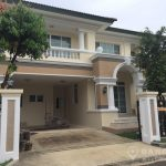 RENT Laddawan Sukhumvit Spacious Detached 3 Bed 3 Bath House in Compound near Udomsuk BTS