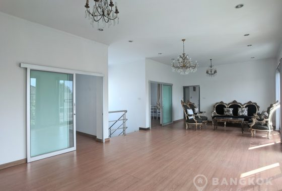 RENT Sammakorn Village Ramkhamhaeng - Spacious Detached 3 bed 4 bath house