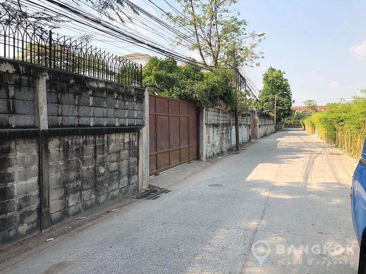 ขายที่เปล่าถมแล้ว ชอยสุขุมวิท 101 Land for Sale Sukhumvit 101