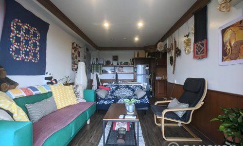 RENT Sammakorn Condominium Spacious Corner 2 Bed 1 Bath condo in Ramkhamhaeng
