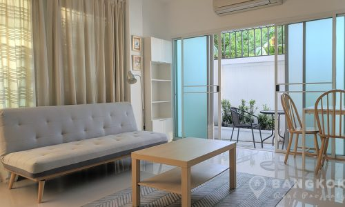RENT Sammakorn Village Spacious Modern 1 bed apartment with patio