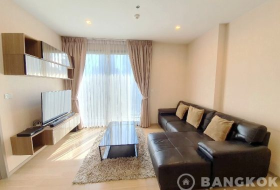 RENT HQ Thonglor Sansiri spacious 1 bed 1 bath 51 sq.m in Thonglor near BTS