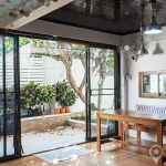 RENT Sammakorn Village Ramkhamhaeng modern 2+1 Bed 2 bath townhouse with garden