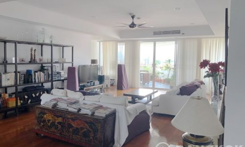 SALE La Cascade Ekkamai Very Spacious 3 bed 4 bath large terrace condo