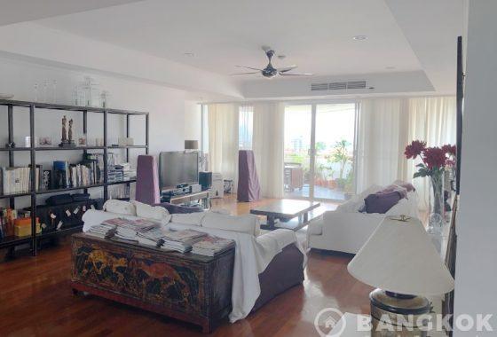 SALE La Cascade Ekkamai Very Spacious 3 bed 4 bath large terrace condo