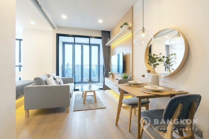 Ashton Chula Silom | Stunning High Floor 1 Bed near MRT photo