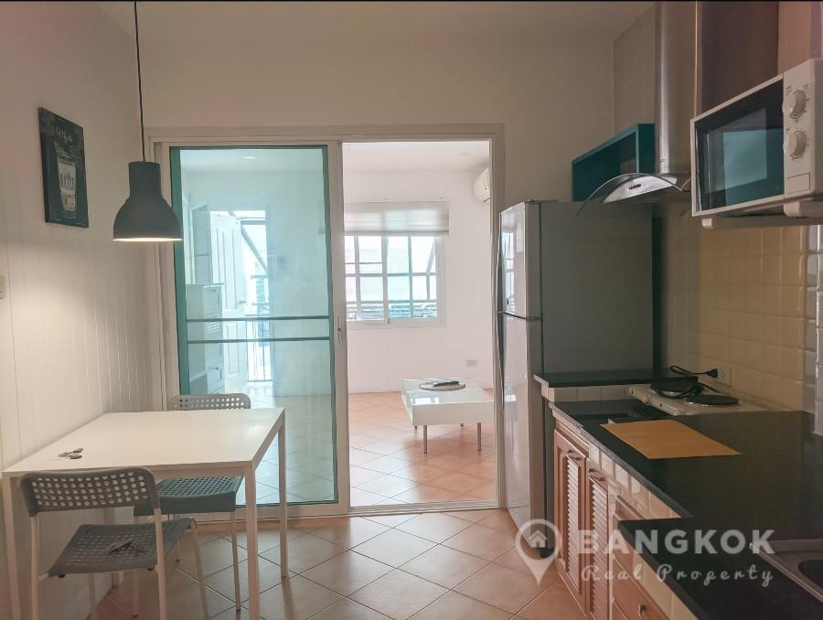 RENT Sammakorn Village หมู่บ้านสัมมากร รามคําแหง Modern 1 Bed 1 Bath Apartment